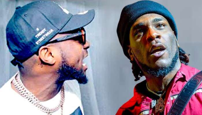 Burna Boy And Davido Fight Openly In A Ghanian Club (Video)