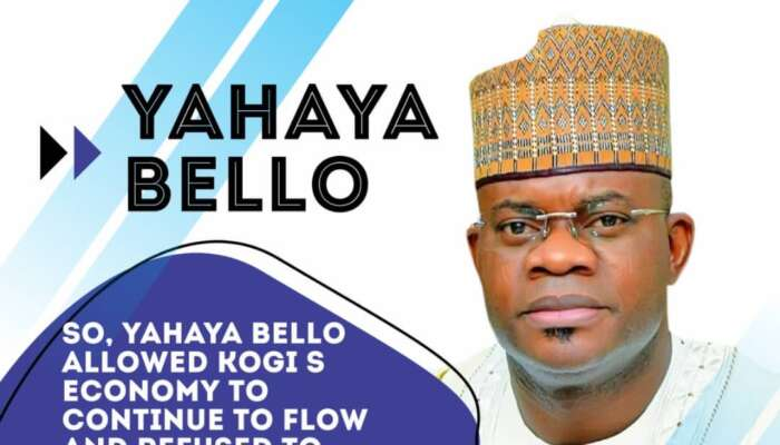 Governor Yahaya Bello Gets Credits As Kogi Overtakes Lagos In  Investment Flow