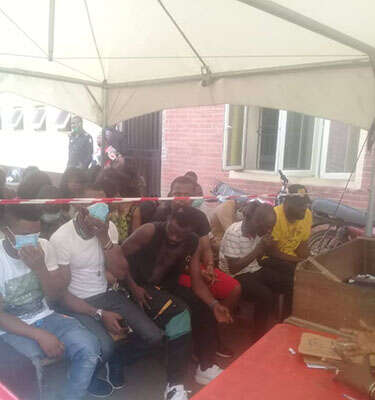 43 Clubgoers And Strippers Arrested In Lagos For Flouting COVID19 Protocols (Photos)