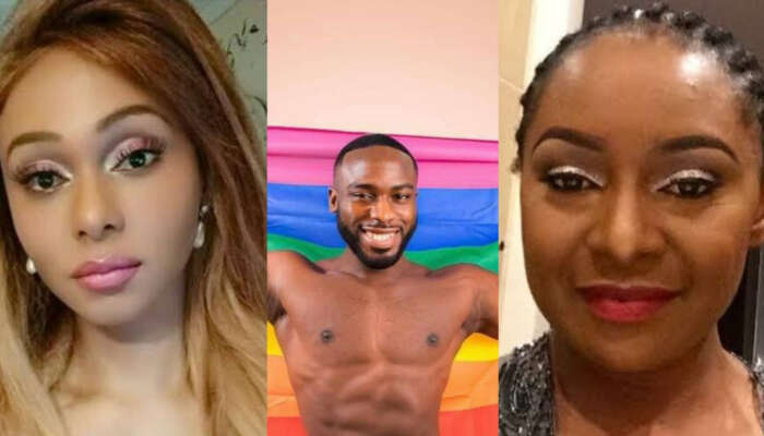 Transgender Nigerian, Miss Sahhara Slams Victoria Inyama For Disapproving Bolu Okupe Coming Out As Gay