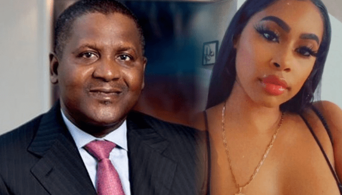 Dangote Files $30,000 Lawsuit Against American Mistress Who Exposed His Buttocks Online