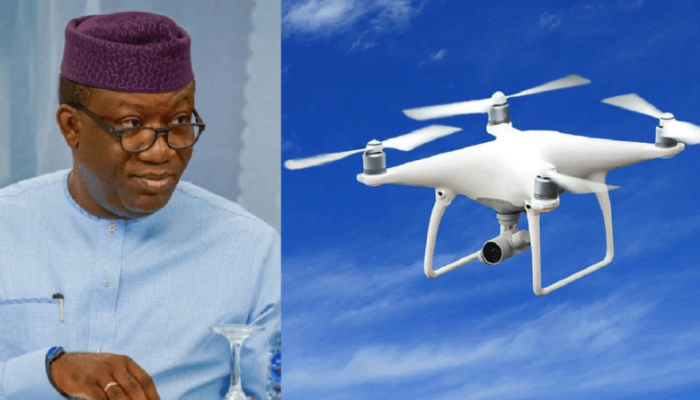 Ekiti To Purchase N550m Drones To Tackle Banditry And Kidnapping