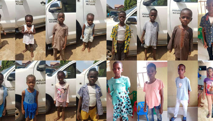 Gombe Police Command Returns Unclaimed Child Trafficking Victims To Anambra After Arresting Suspect