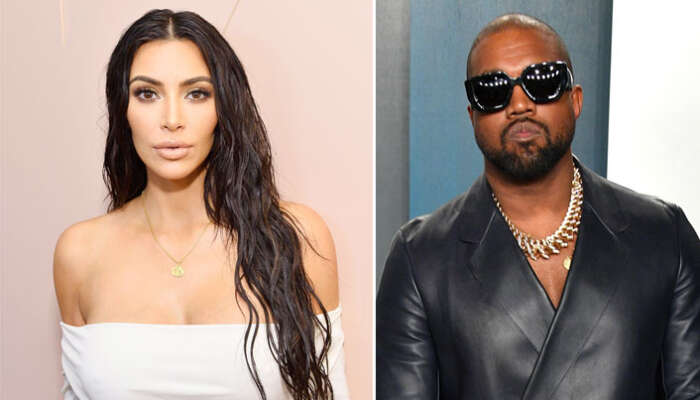 Celebrity Couple, Kim K And Kanye West Reportedly Heading For A Divorce