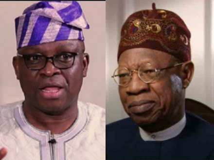 At 69, He Carries Evil In His Brain And Vomit Evil Words Through His Septic-Tank-Like-Mouth – Fayose Blasts Lai Mohammed For Saying Nigeria's Security Situation Is Better Than It Was In 2015
