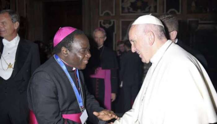 Pope Francis Gives Bishop Kukah New Appointment At The Vatican