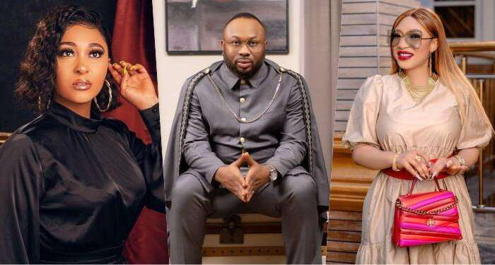 Tonto Dike's Estranged Husband, Churchill Confirms Marriage With Rosy Meurer