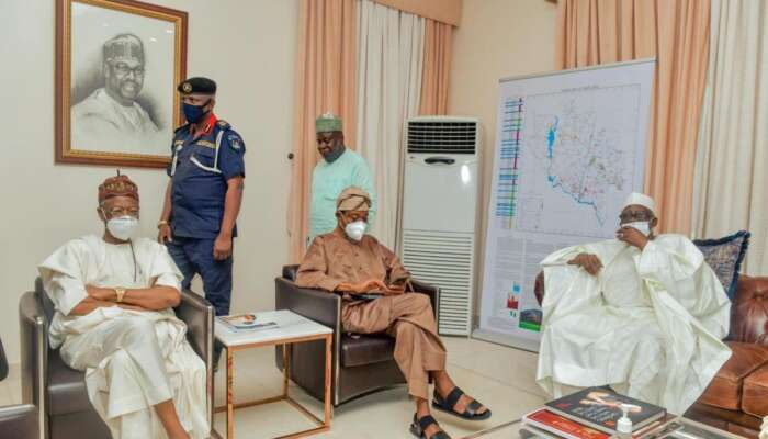 FG's Security Delegation, IGP Adamu, Others Arrive Niger State To Rescue Abducted Kagara Students