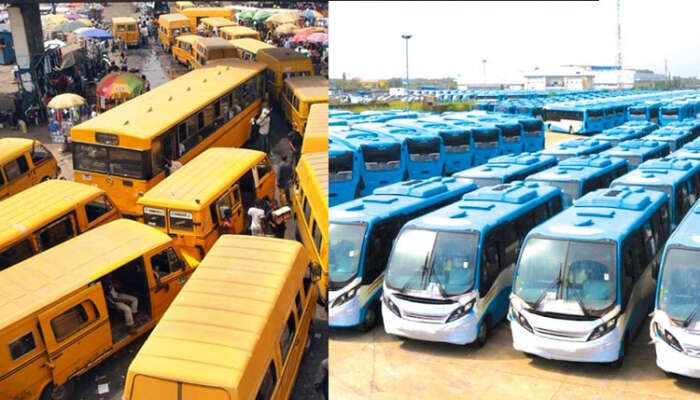 Lagos State Government To Replace Yellow Commercial Buses (Danfo) With Blue BRT Buses