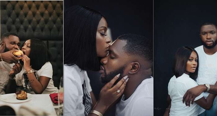 Actor Emmanuel Ikubese And Wife, Anita Adetoye Trigger Breakup Rumour After Deleting Their Wedding Photos And Unfollowing Each Other