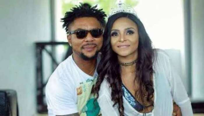 Oritsefemi's Wife Calls Out Husband's Mistress Who Defiled Her Matrimonial Bed While She Was At Work