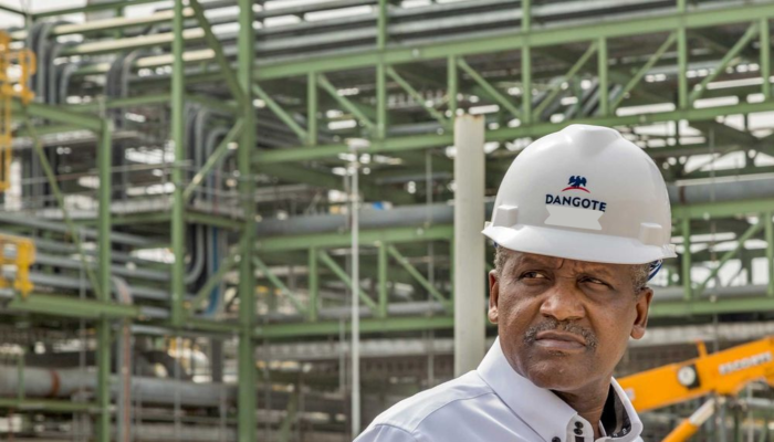 Dangote's Multibillion Dollar Refinery To Be Completed By The End Of 2021