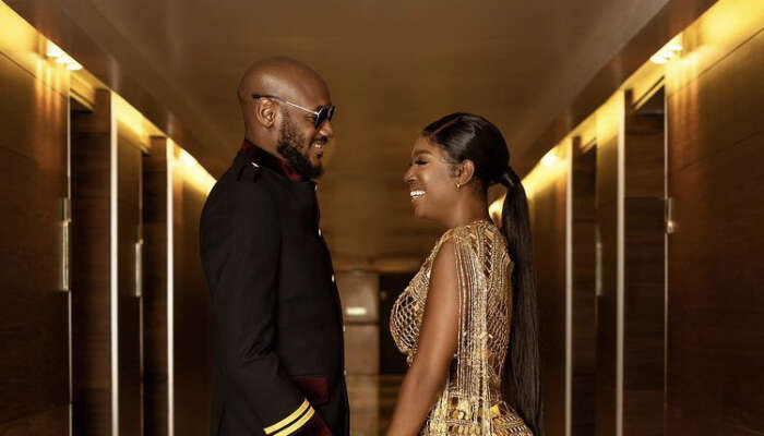 """I Always Knew It Was You"" Annie Idibia Says As She Celebrates 8th Wedding Anniversary With Her  ""A Guy"" 2baba"