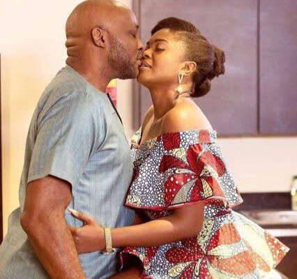 See Omoni Oboli's Response To Follower Who Criticized Her For Kissing RMD On TV Despite Being A Married Woman