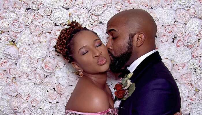 Adesua Etomi-Wellington Celebrates Hubby Banky W As He Turns 40 Today