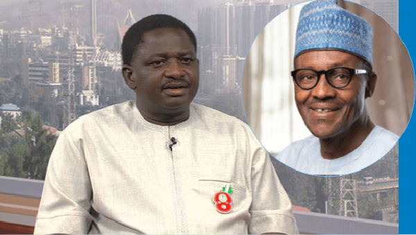 President Buhari Never Promised To Make One Naira Equal To One Dollar – Femi Adesina (Video)