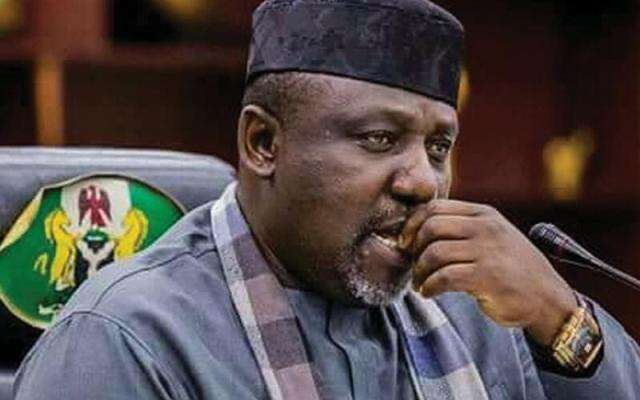 Drama In Air Peace Aircraft As Rochas Okorocha Got Hit With A Stick In Heated Clash With Imo King