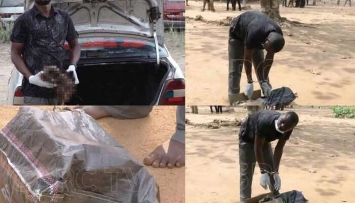'Dispatcher' Caught With Two Human Heads In Akure