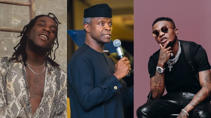 Grammy Awards: FG Impressed With Burna Boy And Wizkid, Supports Creative Sector With N300 Million Loan